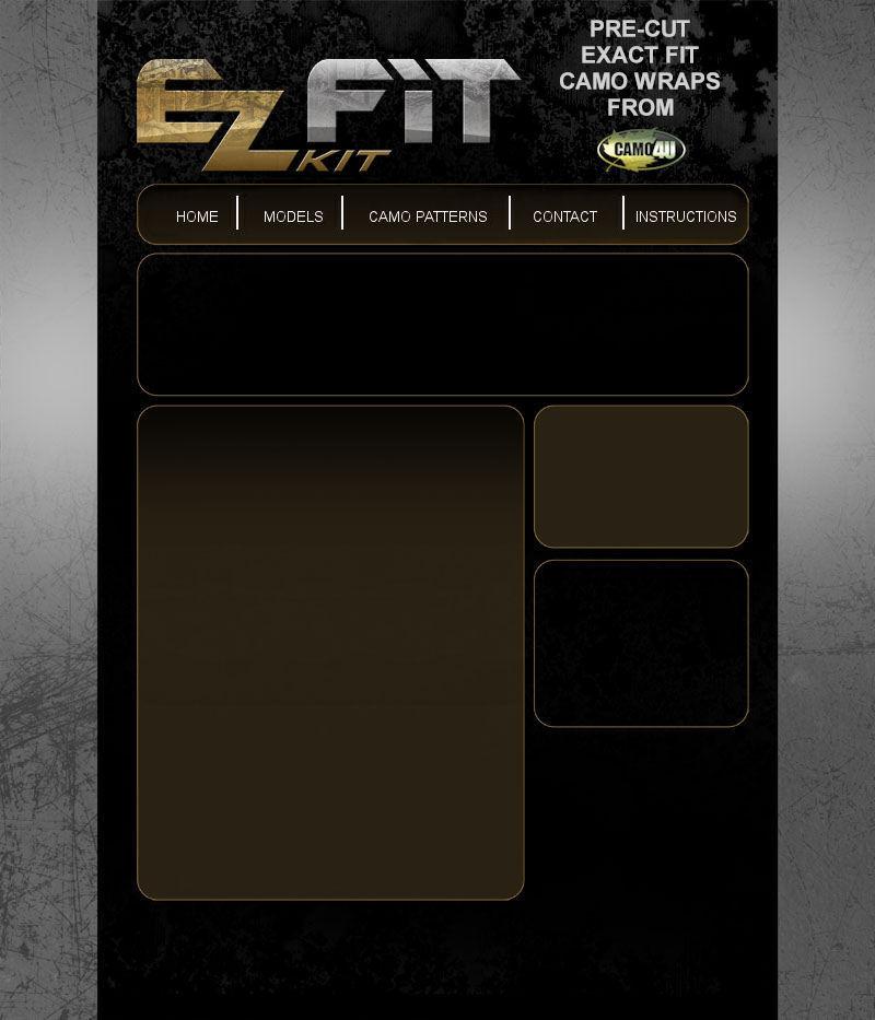 EZ Fit Kit - Pre-Cut Camo Kits for all ATV, UTV, and Golf